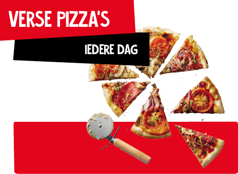 Verse pizza - Jan Linders