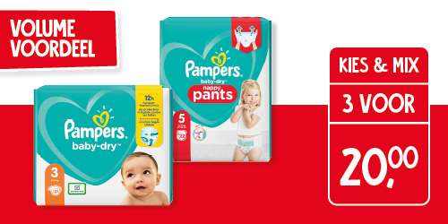 Alle Pampers baby dry