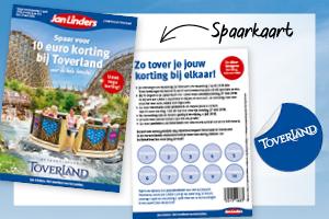 Korting Toverland.Toverland Spaaractie Jan Linders